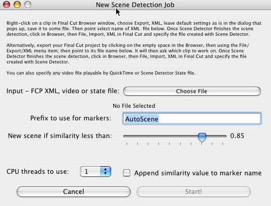video xml file
